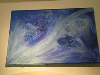 Welle, Blau, Weg, Fantasie