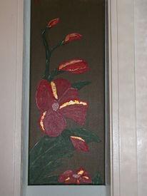 Blumen, Blüte, Knospe, Malerei