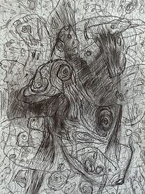 Ausdruck, Befindlichkeit, Zeichnung, Zeichnungen