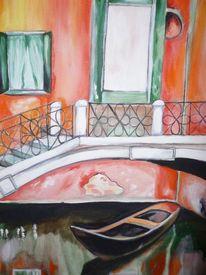 Italien, Gondel, Venedig, Boot
