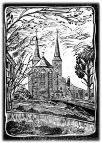 Linol, Kirche, Dorf, Marialinden