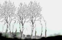 Umwelt, Landschaft, Digital art, Baum