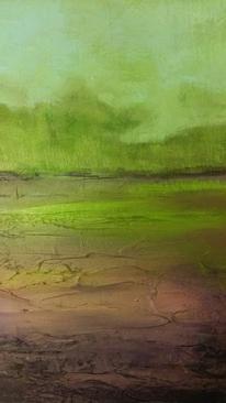Wasser, Farben, Grün, Malerei