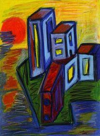 Struktur, Hellblau, Spiegelung, Fenster