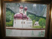 Bartholomä, Berchtesgaden, Königssee, Malerei
