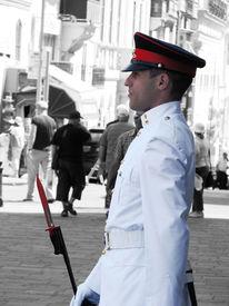 Malta, Valletta, Ehrengarde, Maltesischer ritter