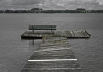 Holz, See, Masuren, Wasser