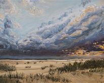 Sand, Nordseestrand, Sturm, Licht