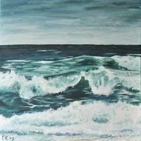 Welle, Wasser, Küste, Brandung