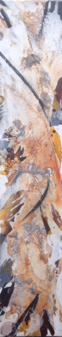 Acrylmalerei, Marmormehl, Malerei