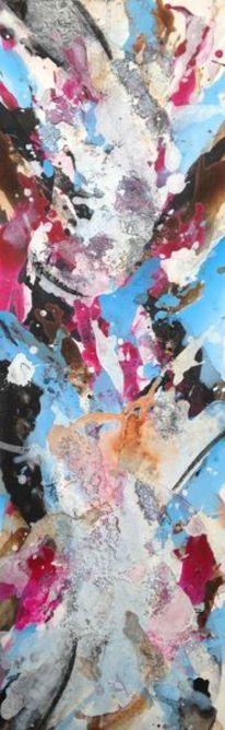 Struktur, Marmormehl, Acrylmalerei, Zeitgenössische kunst