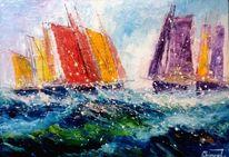 Yachtregatta, Wassersport, Boot, Ostsee