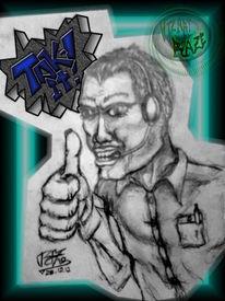 Bleistiftzeichnung, Din a5, Zeichnung,