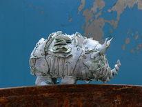 Glasur, Ton, Keramik, Skulptur