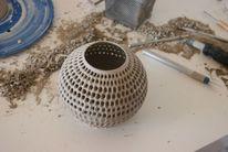 Ton, Vase, Töpferei, Dekoration
