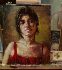 Gemälde, Farben, Malerei, Ölmalerei