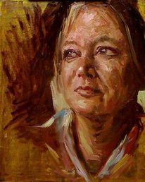 Fotografie, Malerei, Alla prima, Portrait