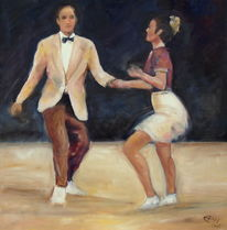Tanz, Menschen, Figur, Impressionismus