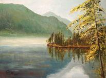 Sommer, Wasser, See, Almsee
