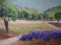 Natur, Impressionismus, Süden, Landschaft