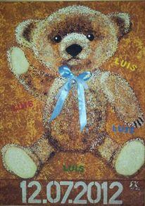 Bär, Braun, Luis, Malerei