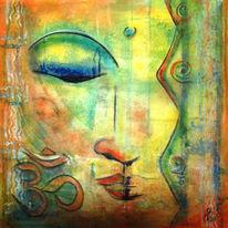 Meditation, Tiefe, Besinnlichkeit, Abstrakt