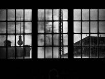Unterwegs, Berlin, Friedrichstraße, Schwarzweiß