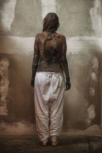 Rücken, Frau, Fotografie, Warchild