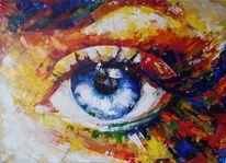 Abstrakt, Gemälde, Schweizer, Acrylmalerei