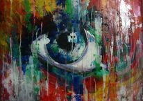 Gemälde, Augen, Frau, Schweizer