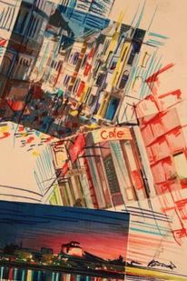 Zeichnung, Wahnsinn, Aquarellmalerei, 2011