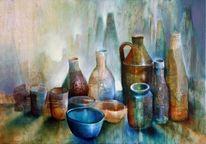 Wein, Esszimmer, Schale, Glas