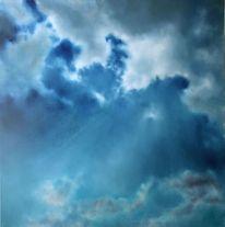 Sonnenstrahlen, Meer, Wolken, Wetter