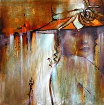 Hut, Menschen, Portrait, Frau