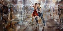 Tango, Tanz, Stadt, Paar