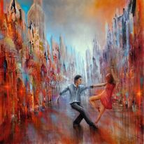 Tango, Lebensfreude, Hell, Salsa