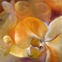 Orchidee, Malerei, Blumen