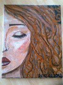 Wallen, Malkarton, Geschlossen, Acrylmalerei