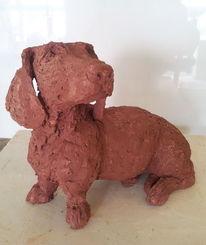 Realismus, Hund, Tiere, Keramik