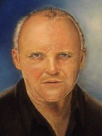 Pastellmalerei, Mann, Menschen, Portrait
