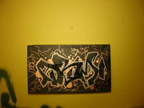 Skizze, Street art, Modern, Malerei