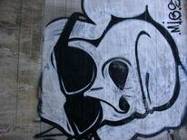 Straße, Malerei, Modern, Tags