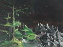 Planet, Tirol, Universum, Malerei