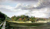 Rheindamm, Altdettenheim, Malerei