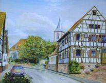 Kirche, Liedolsheim, Malerei