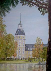 Schlosspark, Karlsruhe, Malerei