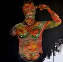 Ölmalerei, Herbst, Vergänglichkeit, Menschen