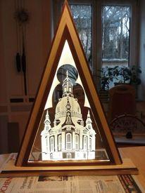 Frauenkirche, Kunsthandwerk, Schwibbogen, Kirche