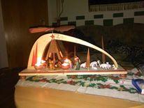 Krippe, Pyramide, Krippendarstellung, Weihnachten