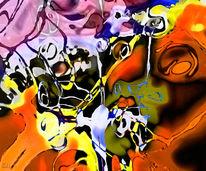 Expressionismus, Lsd, Gefühl, Digital